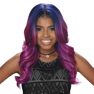 Zury Sis Synthetic Hair Swiss Lace Front Wig Sw Lace H Nova