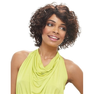 Janet Collection 100 Human Hair Wig Rose