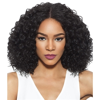 Outre Synthetic Swiss X Lace Front Wig Valentina