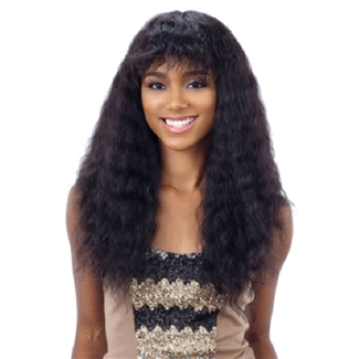 Naked Brazilian Natural Human Hair Lace Front Wig Wet