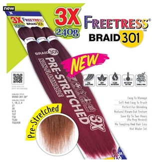 Shake N Go Que 3x Pre Stretched Braid 301 28 Quot